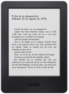 kindle tactil barato